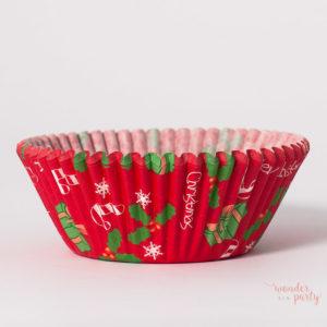 Cápsulas cupcakes Navidad