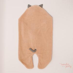 Saco para bebé polar meaw wonder-party-barcelona