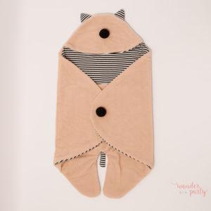 Saco para bebé polar meaw