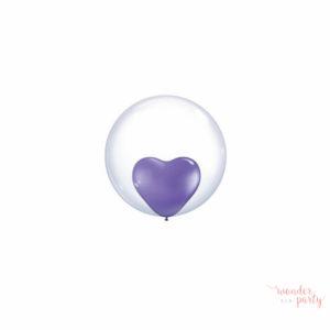 Globo bubble transparente