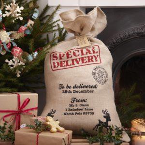 Saco navidad para regalos