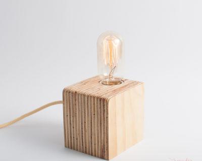 Lámpara CALA bombilla cilíndrica