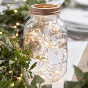 Guirnalda de luces led para decorar