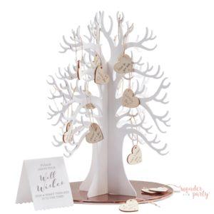 Libro de firmas árbol de deseos