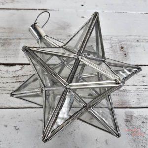 Farolillo en forma de estrella