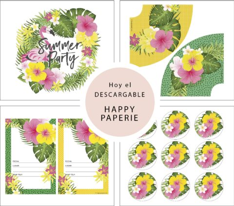 Conocemos a Happy Paperie con imprimible de regalo