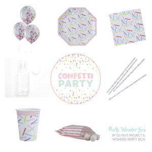 Party Wonder Box Confetti Party