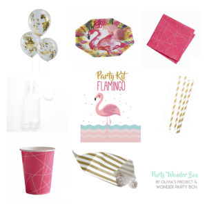 Party Wonder Box lovely flamingo