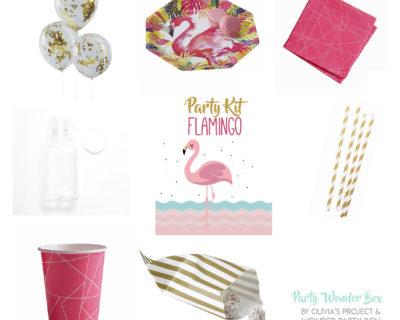 Party Wonder Box lovely flamingo