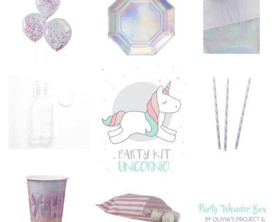 Party Wonder Box unicornio rosa