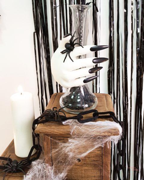 DIY fácil y sencillo para decorar tu fiesta de Halloween